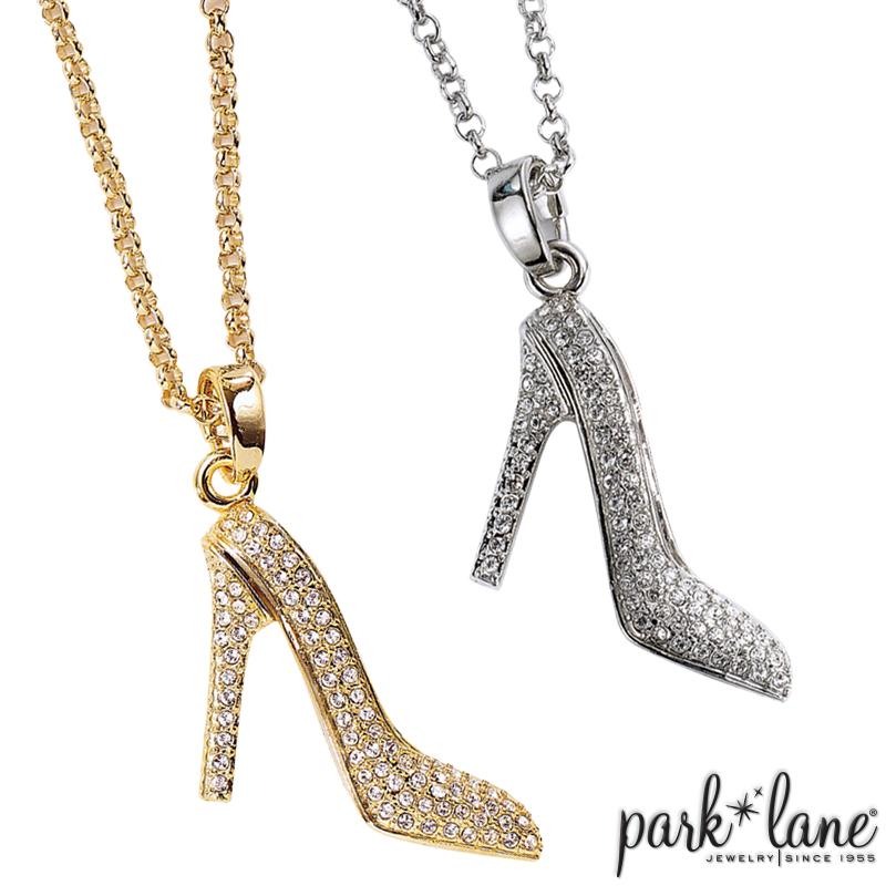 park lane jewelry head over heels necklace
