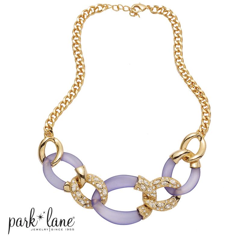 park lane jewelry lavender lust necklace